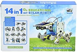 Emob 14 in 1 Educational Solar Robot Kit (Multicolor)