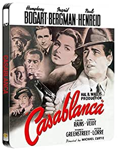 Casablanca Steelbook (Blu-ray + UV Copy) [1942] [Region Free]