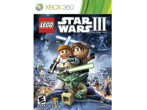 New - XB360 LEGO STAR WARS III CLONE WARS - 34276 lego star wars iii the clone wars [mac цифровая версия] цифровая версия