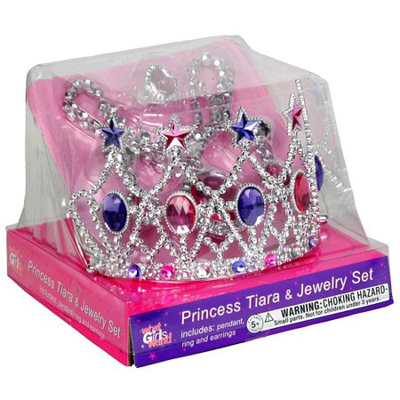 Princess Expressions Tiara and Jewelry Set with different Styles - 1
