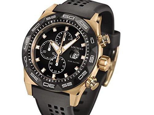 Locman montre homme Stealth chronographe 0217V5-RKBK5NS2K