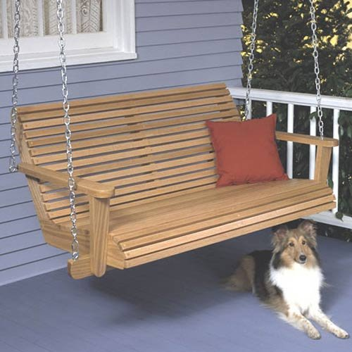 Woodworking Project Paper Plan to Build Porch Swing