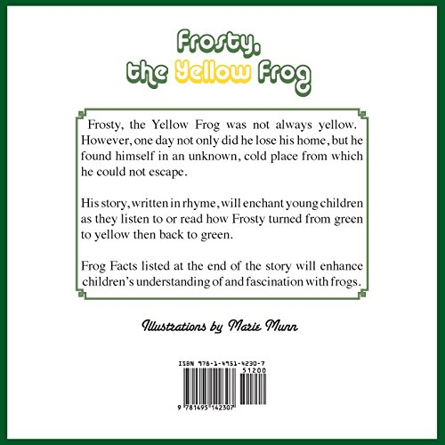 Frosty, the Yellow Frog