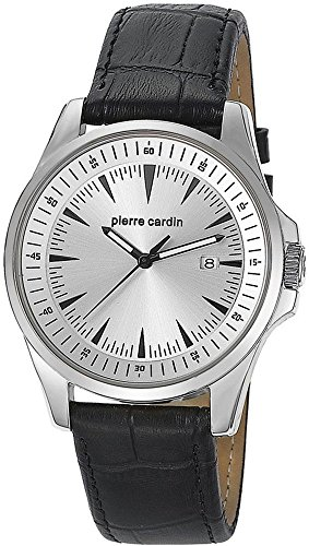 Pierre Cardin Special Collection Orologio da Polso da Uomo al Quarzo in Pelle
