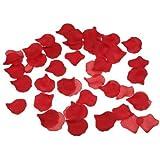 1000 Pétales de Rose en Soie pour Mariage - Couleur rouge