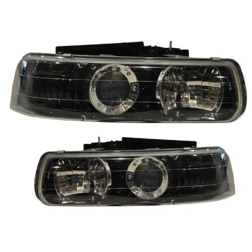 Price Chevy Ck Truck / Silverado Headlight Black Projector