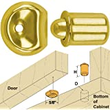 "Platte River 866854, An unobtrusive and effective latch. 3/8"" Bullet Catches, 10 Each"