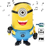Pggpo Despicable Me Minions Style Multifunction Speaker (DS-804)