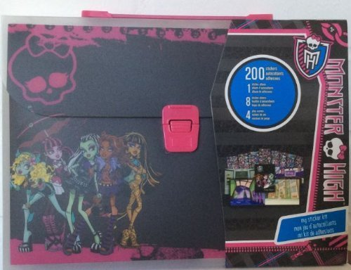 Monster High My Sticker Kit