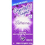 Crystal Light On The Go Energy Grape - Caffeine Energy Releasing, 10-Packet Boxes (Pack of 4)