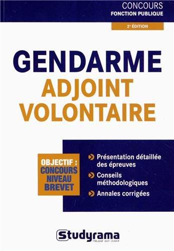 Gendarme adjoint volontaire PDF