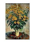 Especial Arte Lienzo Jerusalem Artichoke Flowers Multicolor