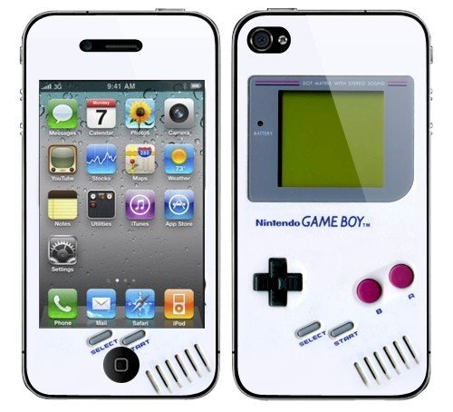 Iphone 4G Nintendo Gameboy Decal Vinyl Sticker Skin