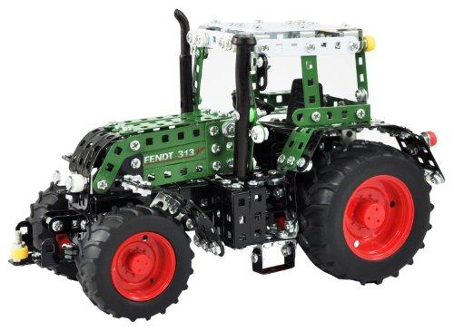 Tronico-10067-Metallbaukasten-Traktor-Fendt-313-Vario-Mastab-116