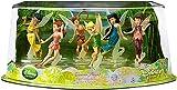 Disney Fairies Exclusive Figurine Playset 6Pack Tinker Bell, Fawn, Iridessa, Rosetta, Silvermist Vidia