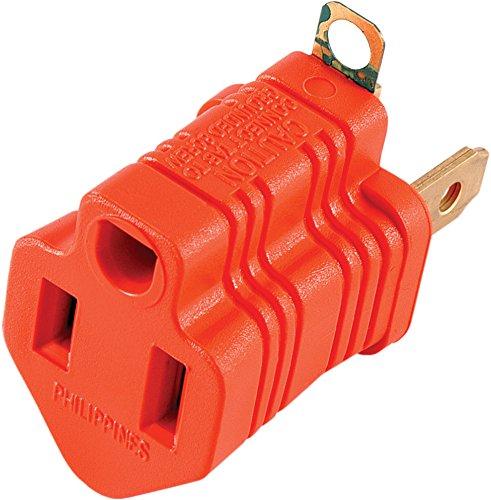 Orange Electrical Outlet