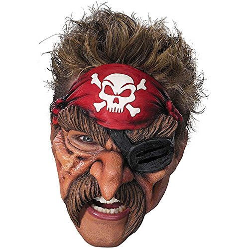 Pirate Chinless Vinyl Mask