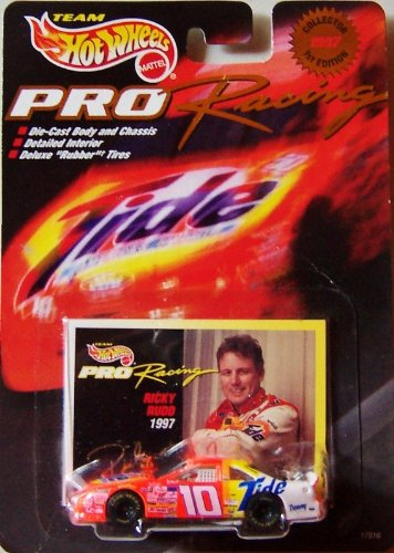 Hot Wheels 1997 1st Edition Ricky Rudd Pro Racing Superspeedway 1:64 Scale