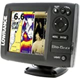 Lowrance 000-11172-001 Elite-5 HDI Combo with Navionics Gold U.S. Charts and 50/200-455/800KHz Transducer