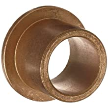 "Bunting Bearings EF101416 5/8"" Bore x 7/8"" OD x 1"" Length 1 1/8"" Flange OD x 1/8"" Flange Thickness Powdered Metal SAE 841 Flanged Bearings"
