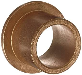 Flanged Bearing, I.D. 5/8, L 1, Pk 3