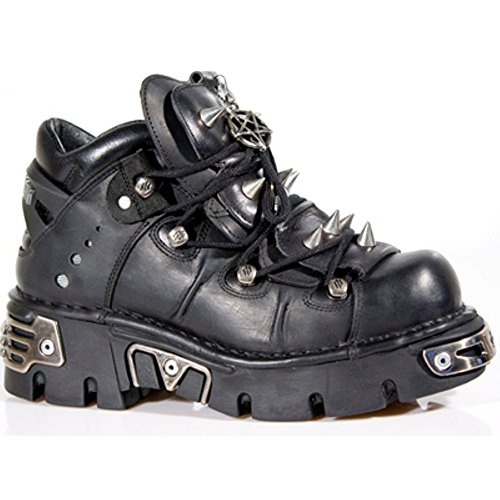 NEWROCK New Rock Stivali Stile 110 S1 Nero Unisex (39)
