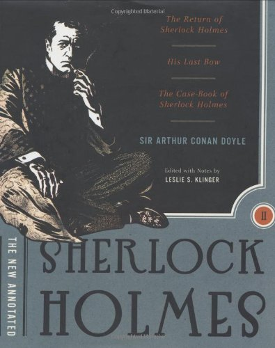 The New Annotated Sherlock Holmes: The Complete Short Stories (2 Vol. Set) back-14051