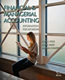 img - for Financial and Managerial Accounting with Connect Plus book / textbook / text book