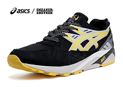 ASICS x Sneaker Freaker GEL KAYANO TRAINER black/yellow (アシックス スニーカーフリーカー ゲル カヤノ トレイナー) (27.5cn/US9.5)