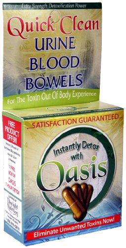 Pilules de Super Oasis Quick Clean Detox capsules