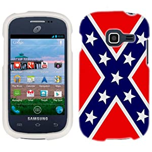 Amazon.com: Samsung Galaxy Centura Rebel Flag Phone Case Cover: Cell