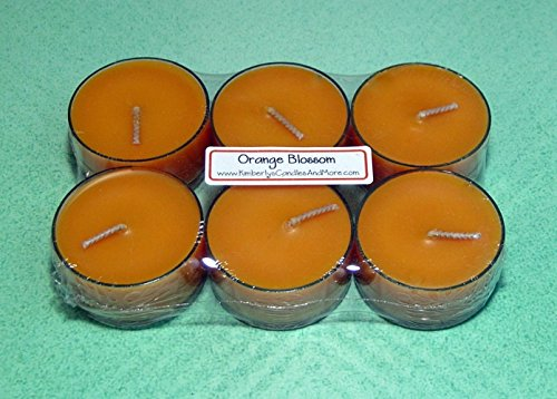 Orange Blossom PURE SOY Tea Light Candles (Candle Warmers Non Electric compare prices)