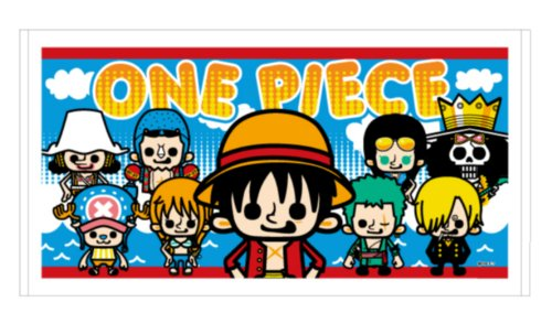 One Piece x PansonWorks - New World Bath Towel лошади 2284