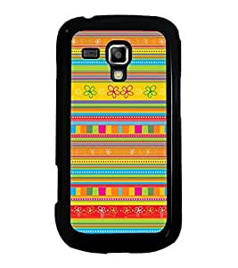Colourful Pattern 2D Hard Polycarbonate Designer Back Case Cover for Samsung Galaxy S Duos 2 S7582 :: Samsung Galaxy S Duos II