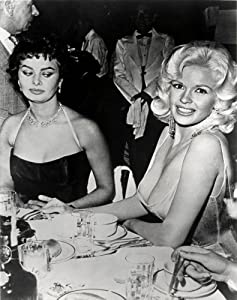 Sophia Loren Jayne Mansfield Poster Photo Hollywood Garage Art 16x20