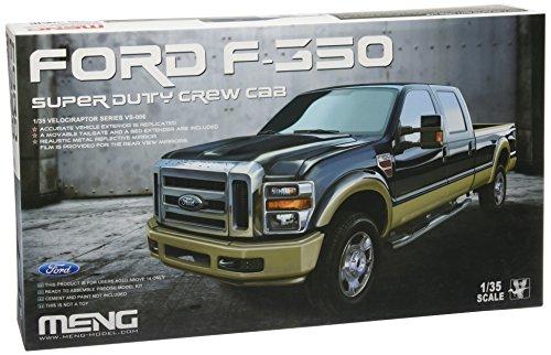 モンモデル 1/35 フォード F-350 スーパーデューティー クールキャブ MENVS-006 メンモデル