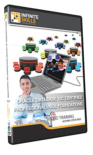 Oracle Database 12c Certified Professional - SQL Foundations - Training DVD