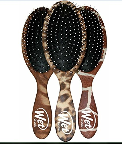 The Wet Brush Classic Detangle Brush & Hair Brush Beauty Tool Cleaner