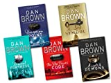 Dan Brown Dan Brown 5 Books Collection Set RRP £38.95 (The Lost Symbol, Digital Fortress, Angel & Demons, Deception Point, The Davinci Code)