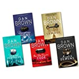 Dan Brown 5 Books Collection Set RRP �38.95 (The Lost Symbol, Digital Fortress, Angel & Demons, Deception Point, The Davinci Code)by Dan Brown