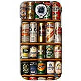 YP Beer Cans Design Hard Back Case Cover For Samsung Galaxy S4 Mini