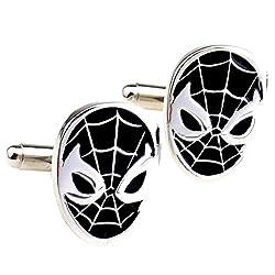 Button Up Spider Man Cufflinks
