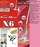1250W X6 6 in1 Steam Mop Floor Carpet Cleaner Hand Held Easy Steamer