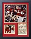 Legends Never Die San Francisco 49ers All Time Big 3 Framed Photo Collage, 11×14-Inch