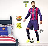 Vinilo decorativo oficial FCBarcelona - Piqué
