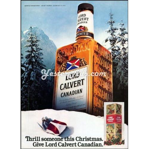 1980 Vintage Ad Calvert Dist. Co. Lord Calvert Thrill someone this Christmas