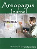 img - for Does the Bible Err? The Areopagus Journal of the Apologetics Resource Center. Volume 7, Number 6. book / textbook / text book