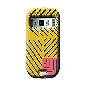 Garmor African Pattern Design Plastic Backcover for Nokia C7- (African 10)