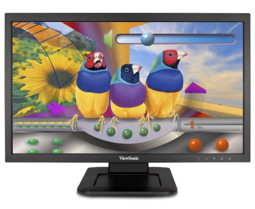 ViewSonic TD2220 22 inch Widescreen Multi Touch Full HD LED Backlit Monitor