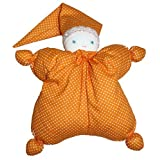 First Doll - Soft Waldorf Doll - Danica Doll Made From Organic American Cotton With Hypoallergenic F